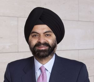 Ajay Banga, president, and CEO of MasterCard