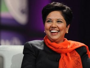 Indra Nooyi, Chairperson, and CEO of PepsiCo